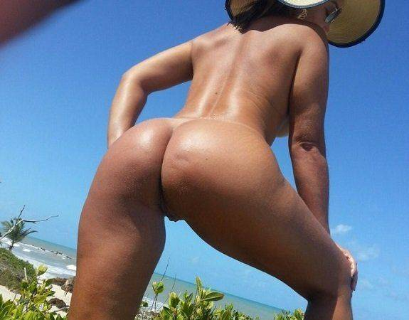 Fotos da esposa gostosa nua na praia