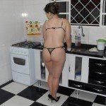 Dona de casa pelada toda gostosa