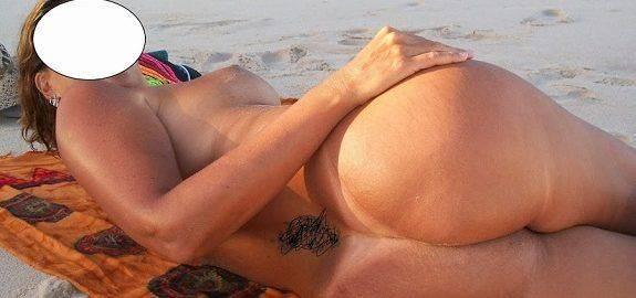 Fotos da esposa toda pelada na praia