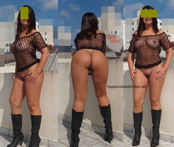 Exibicionismo da esposa pelada na rua (18)