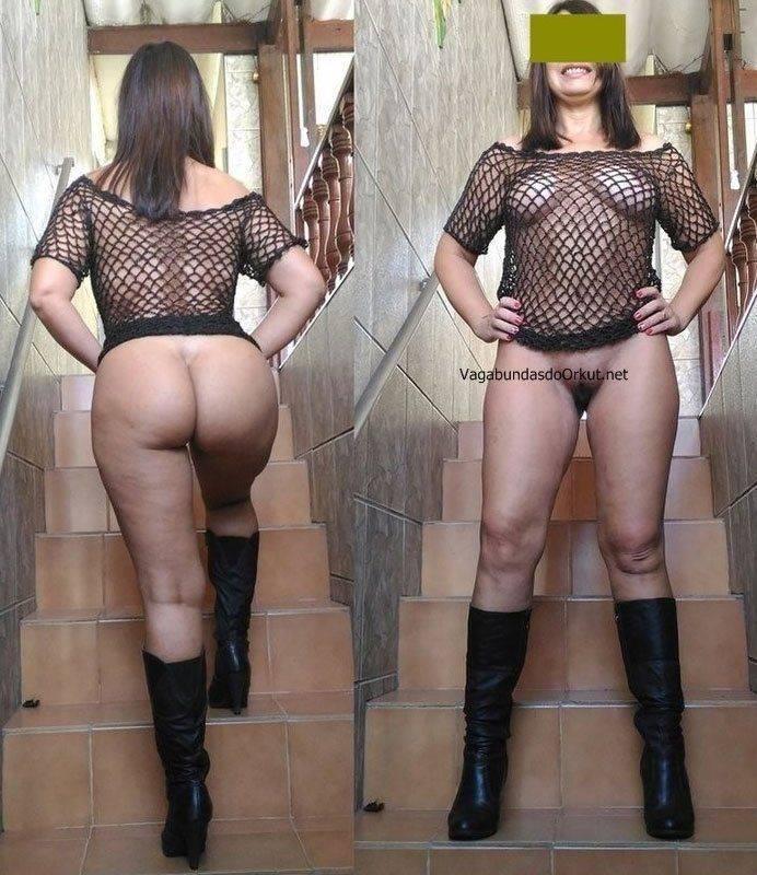 Exibicionismo da esposa pelada na rua (21)