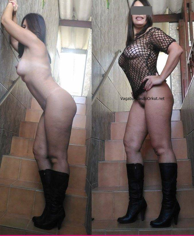 Exibicionismo da esposa pelada na rua (23)