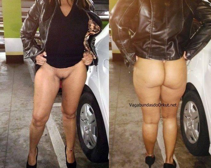 Exibicionismo da esposa pelada na rua (27)