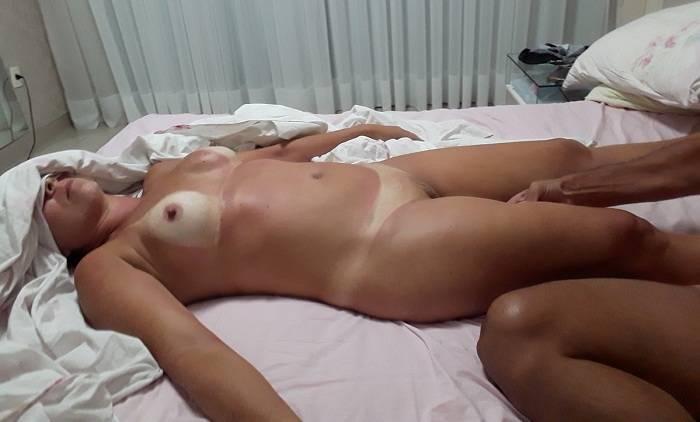Sexo com a esposa Julinha mega deliciosa